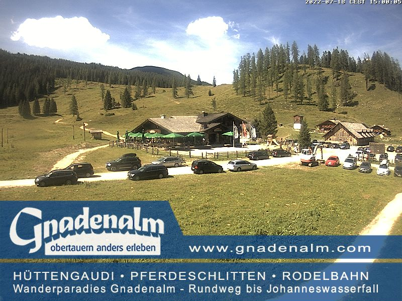 Obertauern Webcam - Gnadenalm