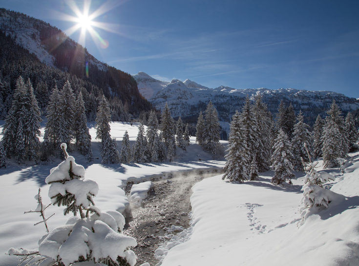 Gnadenalm im Winter