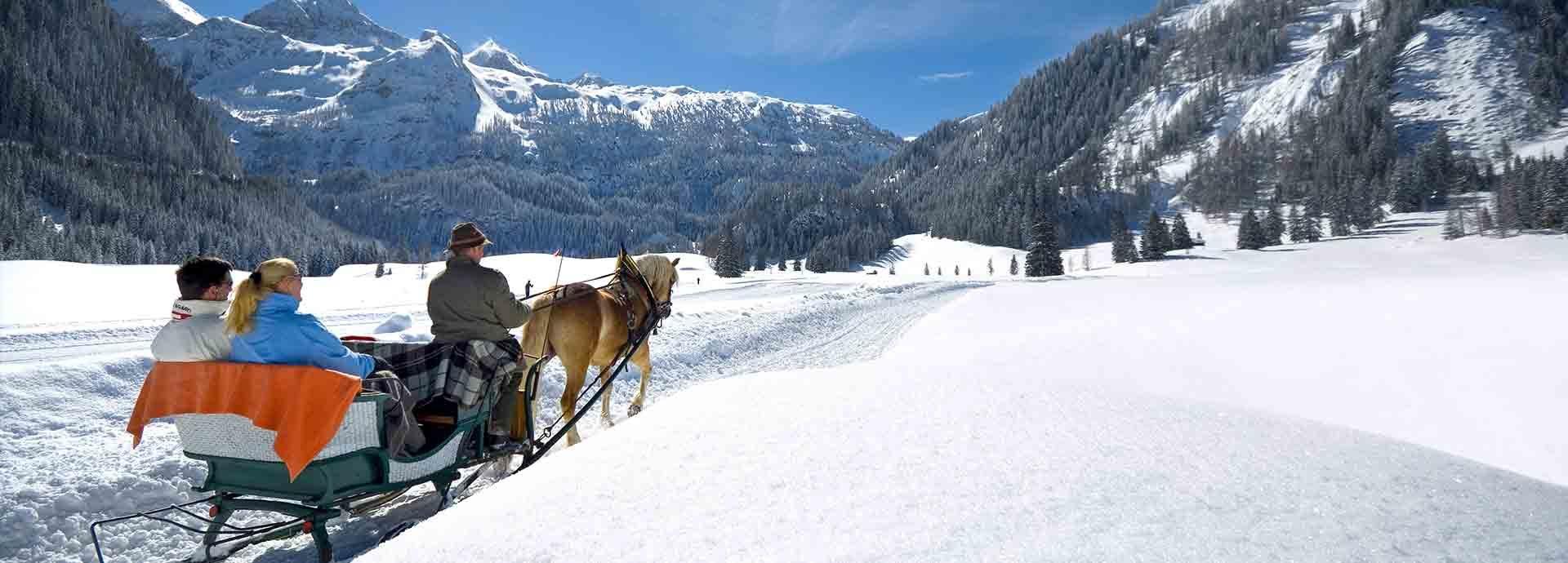 Pferdeschlitten Obertauern