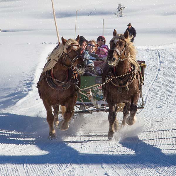 Pferdeschlittenfahrt Obertauern Gnadenalm