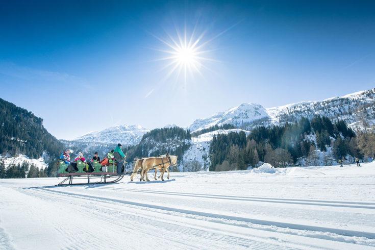 Pferdeschlittenfahrten In Obertauern