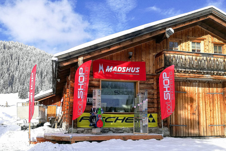 Langlauf- & Sport-Shop, Verleih Gnadenalm