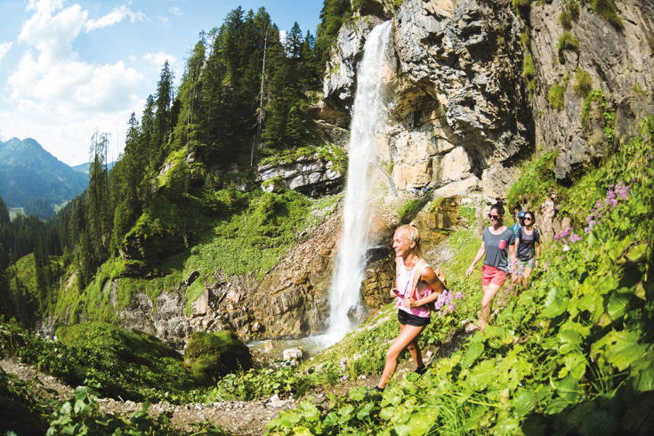 Wanderung zum Johanneswasserfall, Obertauern