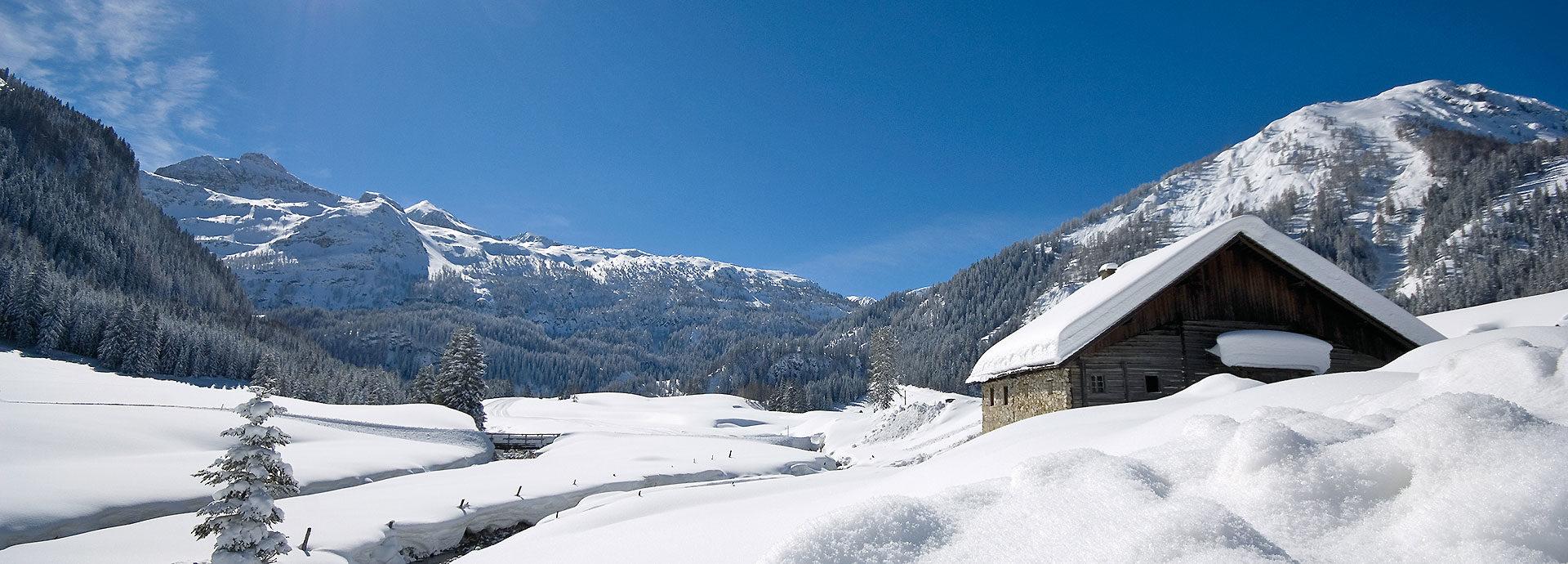 Winter auf der Gnadenalm